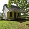 Circa 1881, Moses Carver House.- George Washington Carver National Monument