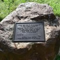 Carver's birthplace site in George Washington Carver National Monument.- George Washington Carver National Monument