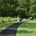 Part of the trail is paved in George Washington Carver National Monument.- George Washington Carver National Monument
