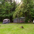 Rogers Rock Campground campsites.- Rogers Rock Campground