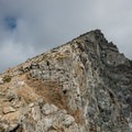 The Class II scramble up the summit.- South Arapaho Peak