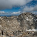 The Class III+ ridge to North Arapaho Peak is not to be underestimated.- South Arapaho Peak
