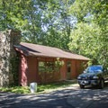 Stay at the park's campground or rent a cabin for the weekend.- Cumberland Mountain State Park