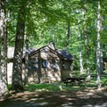 Rental properties are available within the park.- Cumberland Mountain State Park
