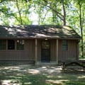 Rental properties within the park are an alternative option to campsites. - Cumberland Mountain State Park