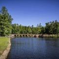 Take a walk around the lake, fish or explore the 1930s dam.- Cumberland Mountain State Park