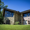 The park's restaurant is an excellent place to relax and enjoy a southern buffet.- Cumberland Mountain State Park