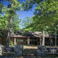 In summer months, the snack bar and pool area are favorites among visitors.- Cumberland Mountain State Park