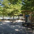 During the summer, take a dip in the park's swimming pool.- Cumberland Mountain State Park