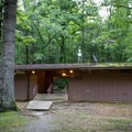 Each section of the campground has a bathhouse with restrooms and showers.- Cumberland Mountain State Park Campground