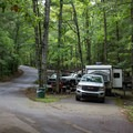 Bring your RV to experience camping with the luxuries of home, or take the family on their first tent camping trip.- Cumberland Mountain State Park Campground