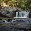 Baby Falls is located just down the road from Bald River Falls and is a popular kayaking spot.- Bald River Falls