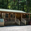 You can purchase bread, ice, milk, ice cream, and camping supplies at the on-site camp store.- Indian Boundary Campground