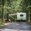 You'll find sites for both tent camping and RVs.- Indian Boundary Campground