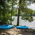 Kayaks and camping equals the perfect weekend getaway!- Indian Boundary Campground