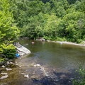 Located on the Townsend, Tennessee, side of the Smokies, the Wye is located just inside of the park boundary.- Townsend Wye