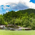 A favorite among visitors and locals, on a hot summer day the Wye is filled with visitors.- Townsend Wye