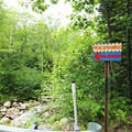 Road signage leading you to the swimming hole.- Frenchman's Hole