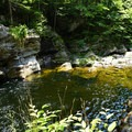 You can wander further down the river to play in the water or find a flat rock for a picnic.- Frenchman's Hole