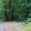 A few boat trailer parking areas are scattered throughout the campground.- Loon Lake Recreation Site Campground