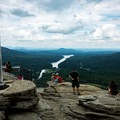 The view from Chimney Rock.- Chimney Rock State Park