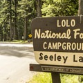 Welcome to Seeley Lake Campground.- Seeley Lake Campground