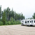 Southview makes an easy roadside rest area for all types of vehicles.- Southview Provincial Recreation Area
