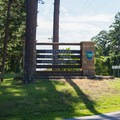The entrance to the park.- Chickasaw State Park