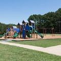 A playground near swim areas.- Pickwick Landing Campground