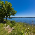Looking southeast across lake.- Pickwick Landing Campground