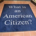 Important questions from a welcome mat at the visitor center.- Ulysses S. Grant National Historic Site