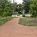 Trails in Ulysses S. Grant National Historic Site are paved and comfortable.- Ulysses S. Grant National Historic Site