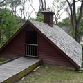 The ice house at Ulysses S. Grant National Historic Site.- Ulysses S. Grant National Historic Site