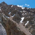 Descending from Cardinal Pinnacle.- Cardinal Pinnacle: Regular Route