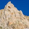 Cardinal Pinnacle from the road.- Cardinal Pinnacle: Regular Route