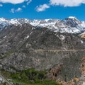 The view from the top of Cardinal Pinnacle.- Cardinal Pinnacle: Regular Route