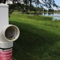Always dispose of fishing line properly.- Bill Frederick Park + Campground at Turkey Lake