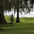 Disc golf by the lake.- Bill Frederick Park + Campground at Turkey Lake