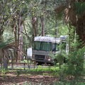 RV hookup available.- Bill Frederick Park + Campground at Turkey Lake