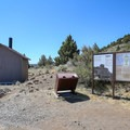 The parking area and trailhead.- Schonchin Butte
