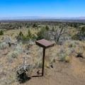 A guestbook along the trail.- Schonchin Butte