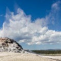 White Dome Geyser.- Firehole Lake Scenic Drive