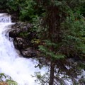 West Eagle Creek cascades accent the adventure.- Echo Lake and Traverse Lake