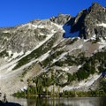 Clear and present beauty.- Echo Lake and Traverse Lake