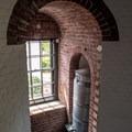 An oil jug at base of the historic Jupiter Inlet Lighthouse.- Jupiter Inlet Lighthouse and Museum