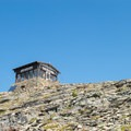 Getting closer to the top.- Swiftcurrent Lookout