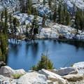 Looking down toward Alta Lake.- Lakes Trail