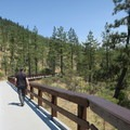 Eight Dollar Mountain Boardwalk.- Eight Dollar Mountain Interpretive Boardwalk