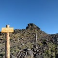 Steens Summit Trailhead.- Steens Mountain Summit Trail
