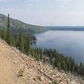You have to climb a decent-sized hill along the way.- Cascade Canyon via South Jenny Lake